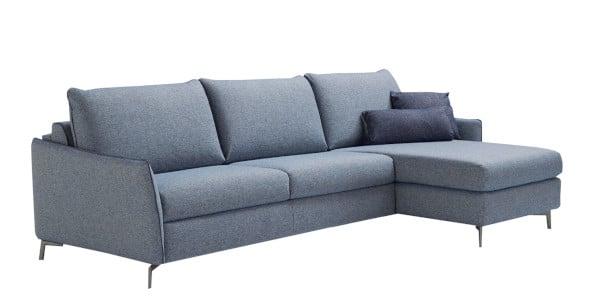 Corner sofa bed Valentina in the sofa position