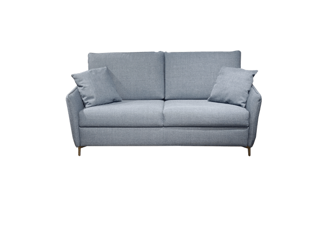 Sofa bed Valentina as a sofa with 2 side cushions