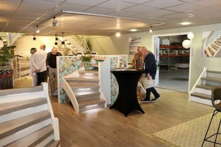 open dag stairz traprenovatie