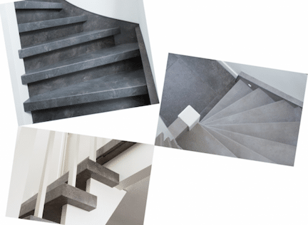 betonlook trap,trap beton,betonnen trap,natuursteen trap,trap graniet,trap roest kleur