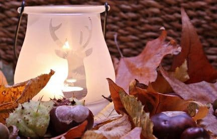 herfst decoratie,herfst trap,interieur tips herfst,najaar in huis,herfstbladeren