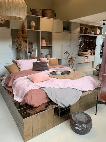 woontrends,goud met roze,interieurtrends,vt wonen en design beurs