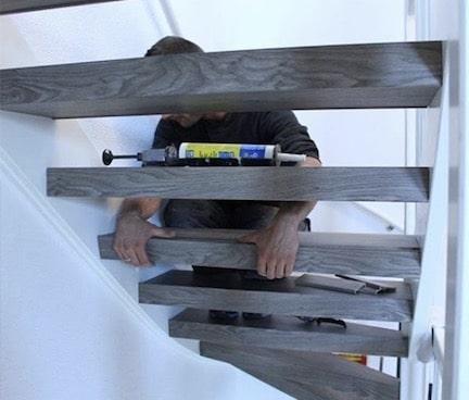 monteur stairz traprenovatie