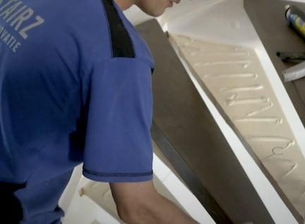 lijmresten verwijderen tips,trap renoveren,monteur stairz traprenovatie