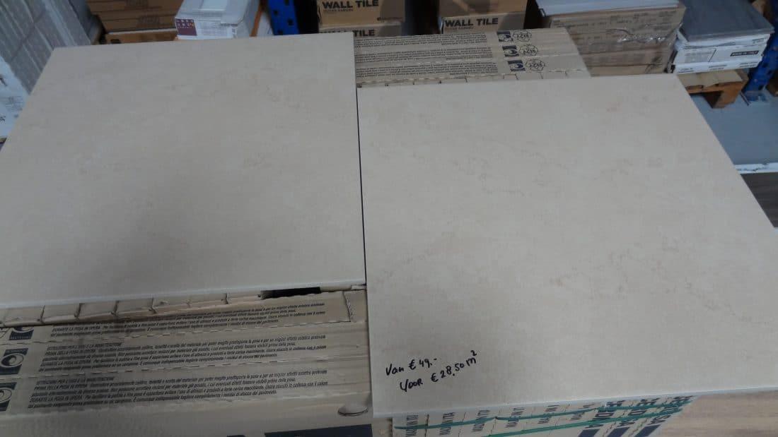 Vloertegel Zand Beige 61x61 1 Scaled