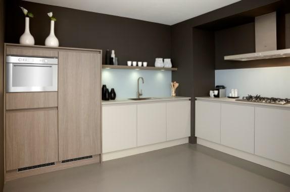 Praktisch moderne L-keuken