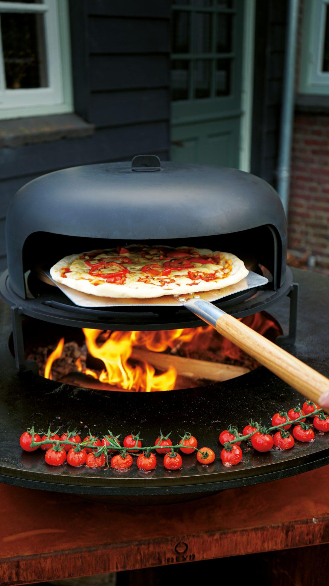 Bak de lekkerste pizza's in je eigen tuin