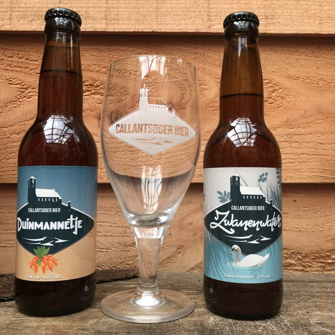 Speciaalbier Proeverij Callantsoger Bier Duinmannetje Amp Zwanenwater Met Speciaalbier Glas