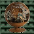 Wereldbol Vuurbal Laser cut Esschert Design