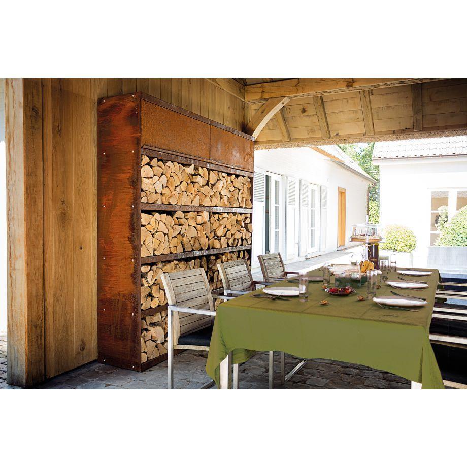 Ofyr Wood Storage Wood Storage Corten 300