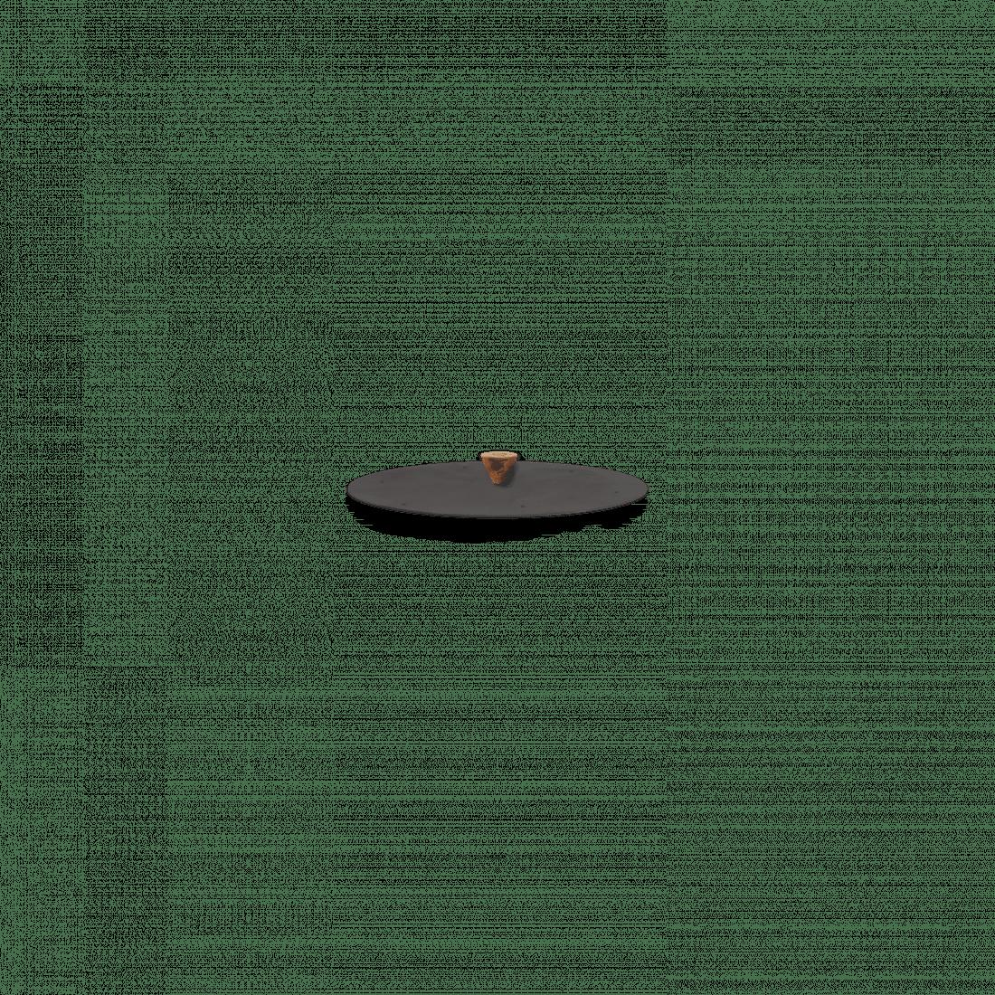 Doofdeksel Zwart 85