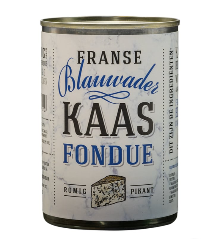 Franse Blauwader Kaasfondue in blik