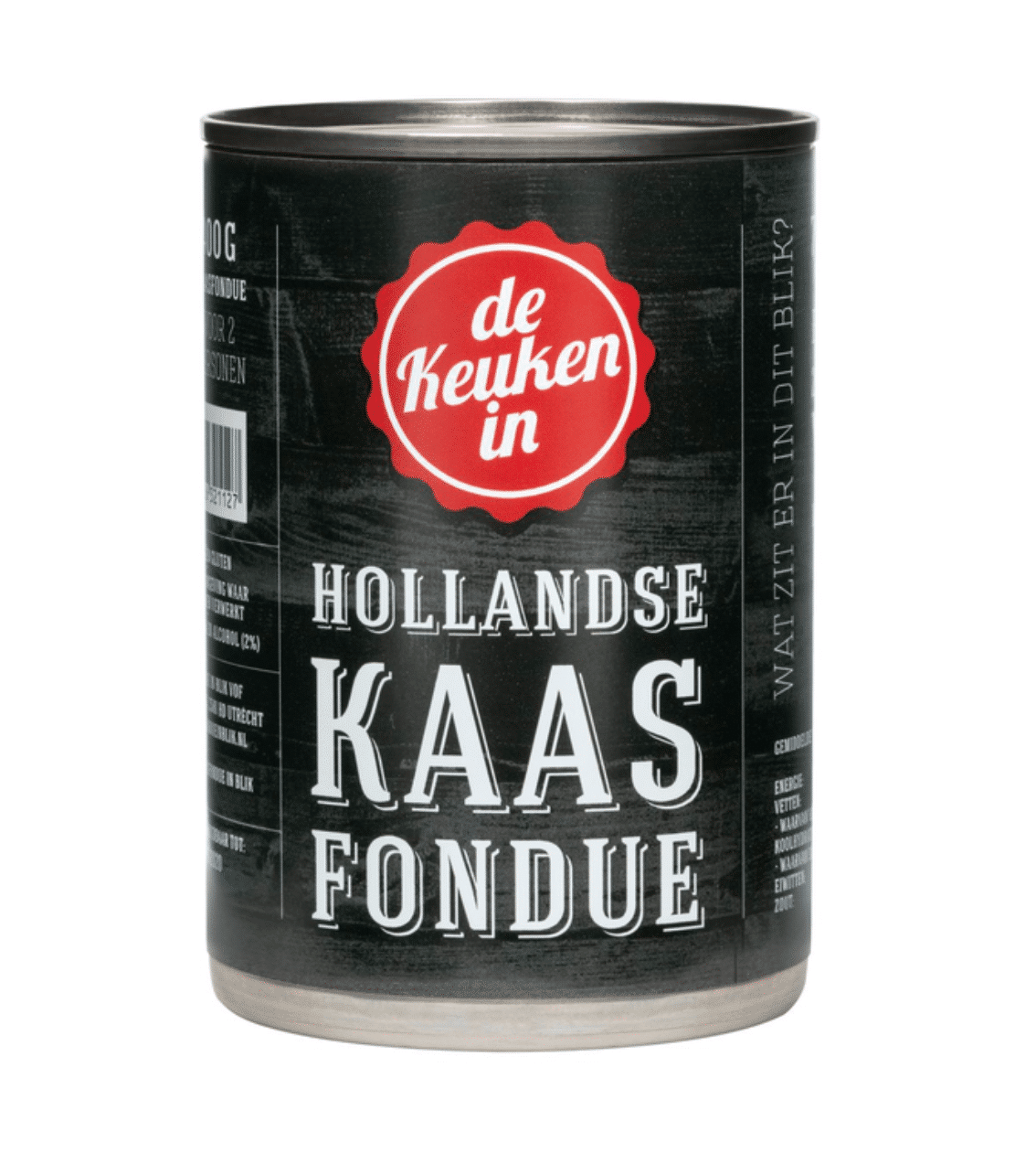 Hollandse Kaasfondue in blik 400 gram