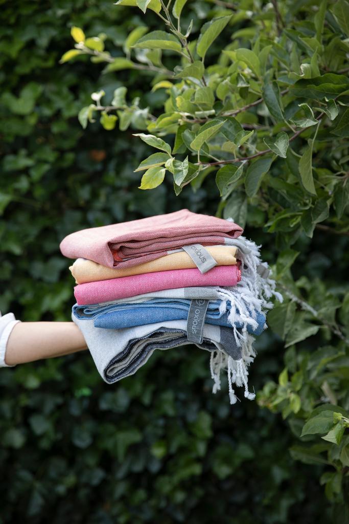 Hamamdoeken in diverse kleuren verkrijgbaar
