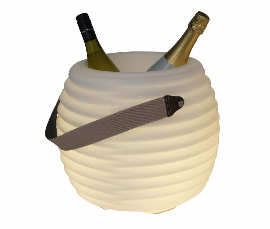 Coollux cooler met lamp en speaker