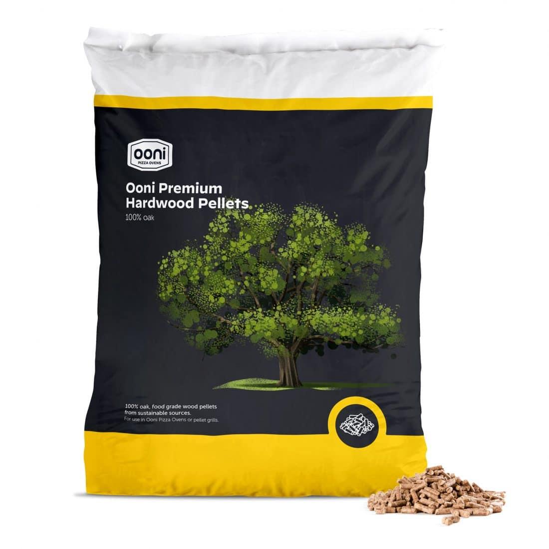Ooni premium eikenhout pellets 10 kg