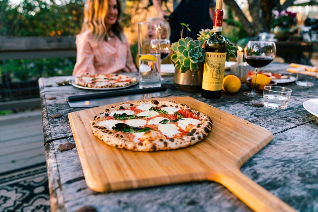 bak de lekkerste pizza die je ooit hebt geproefd