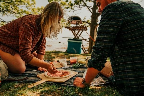 Ooni Koda Pizza Oven camping
