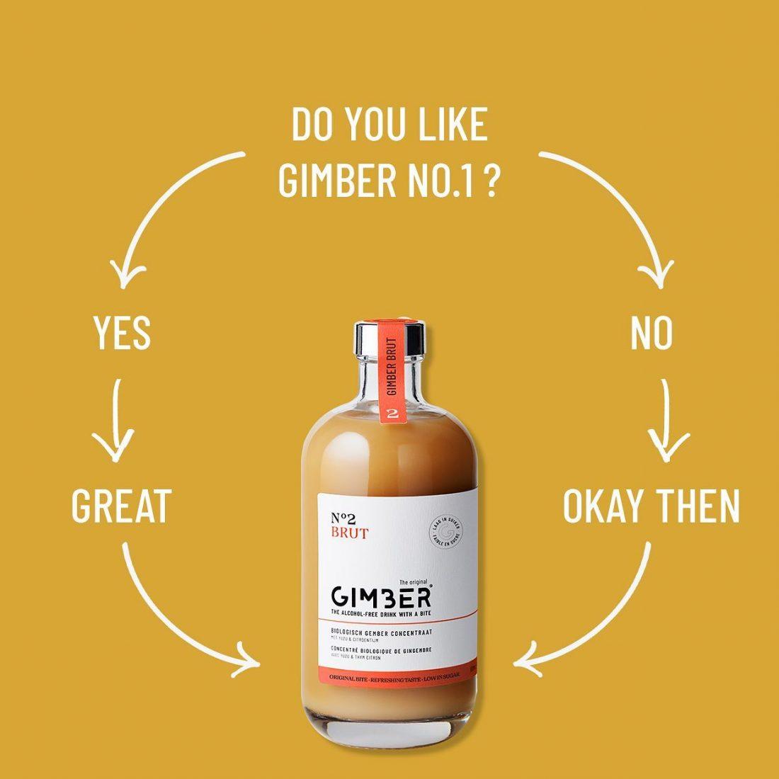 GIMBER N°2 BRUT 500 ml