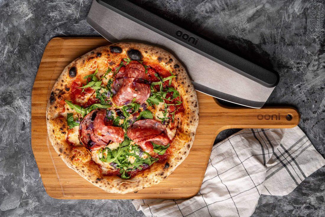 Houten pizza peel 12
