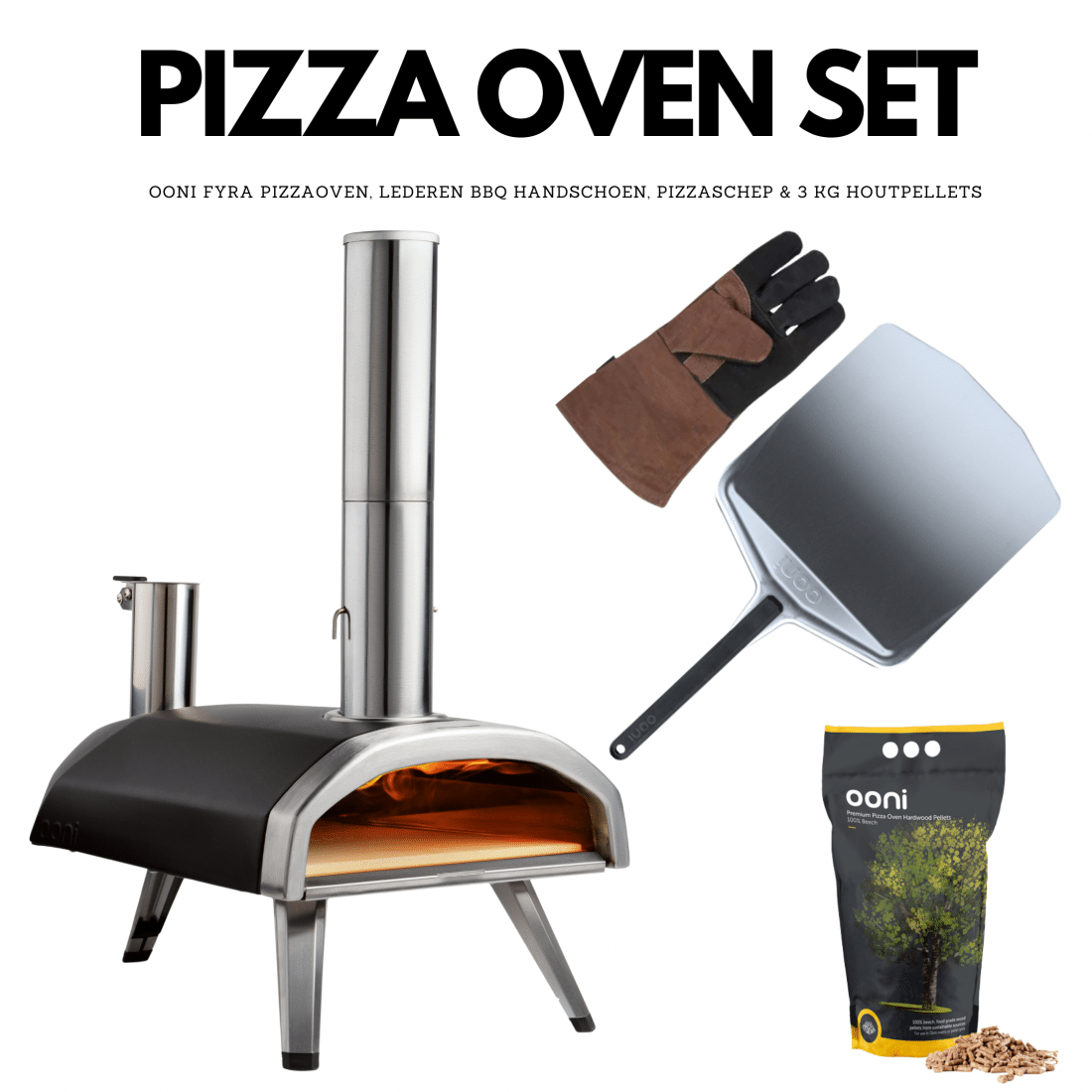 pizza oven set
