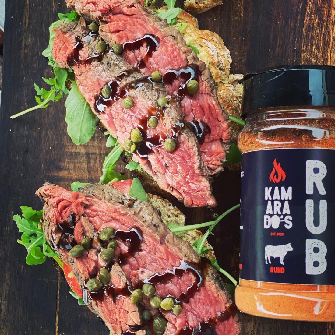 Kamarados BBQ Dry Rub Rund