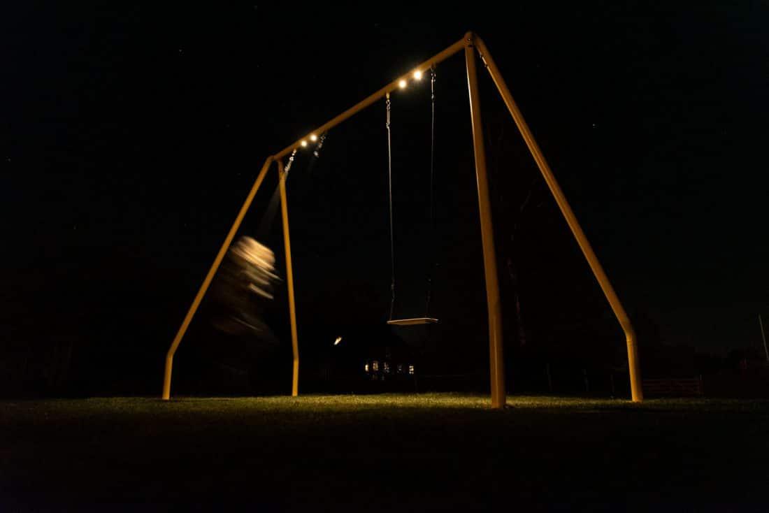 Serious Swing Yellow Met Verlichting