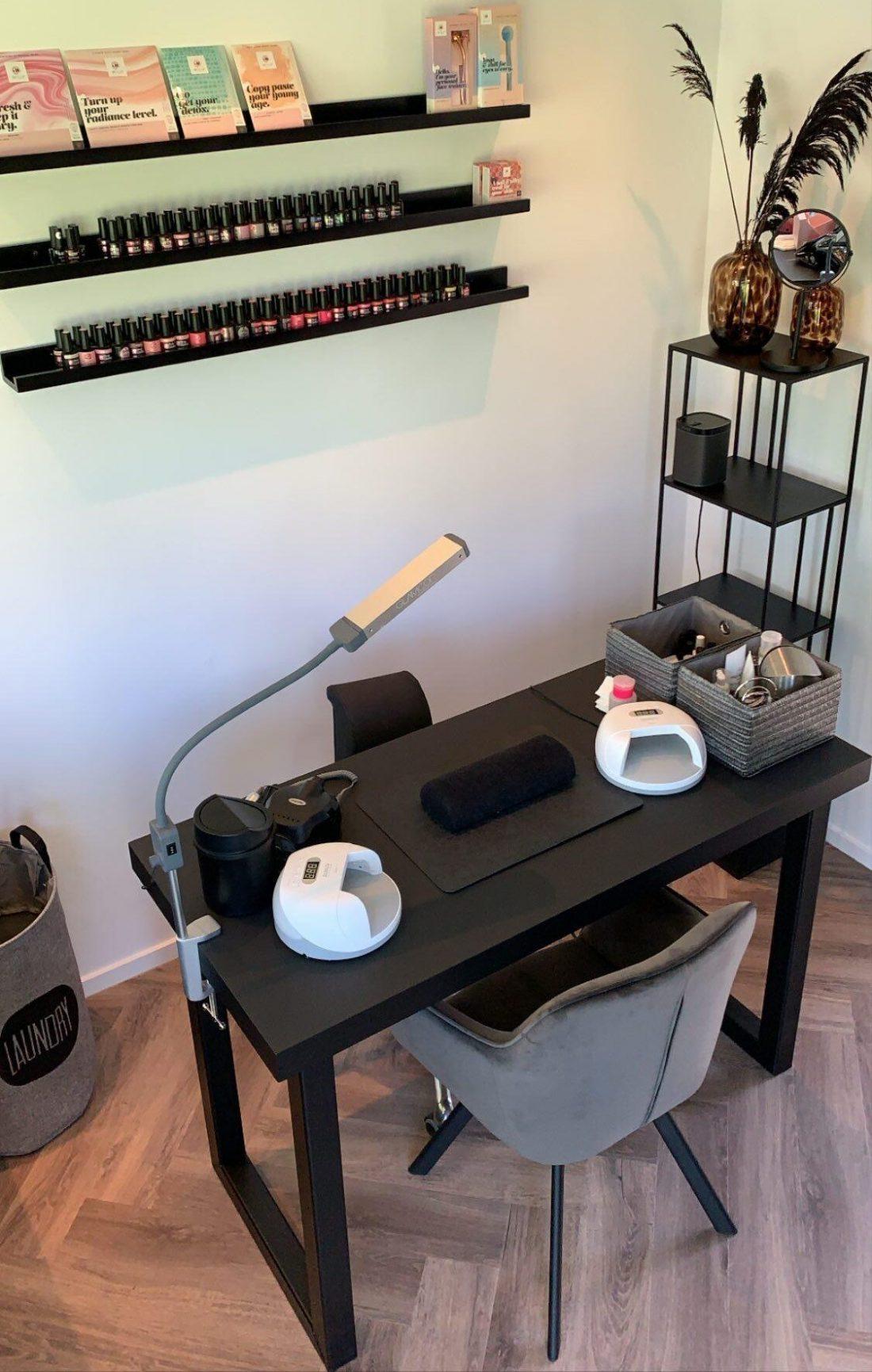 Mdf Stalen Manicure Tafel Maisha
