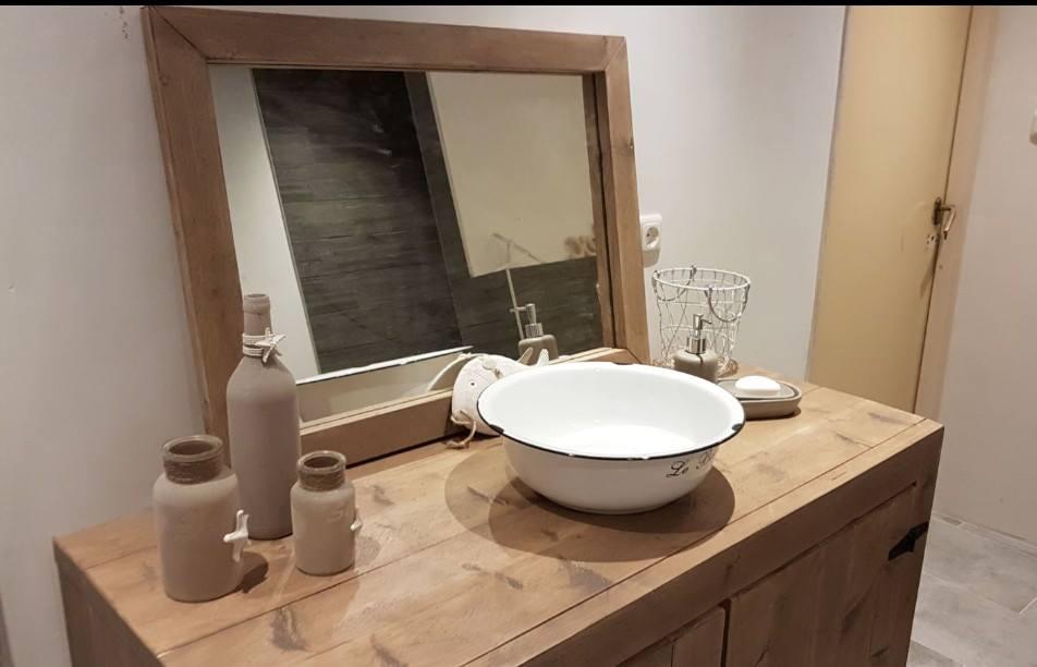 Steigerhouten Spiegel