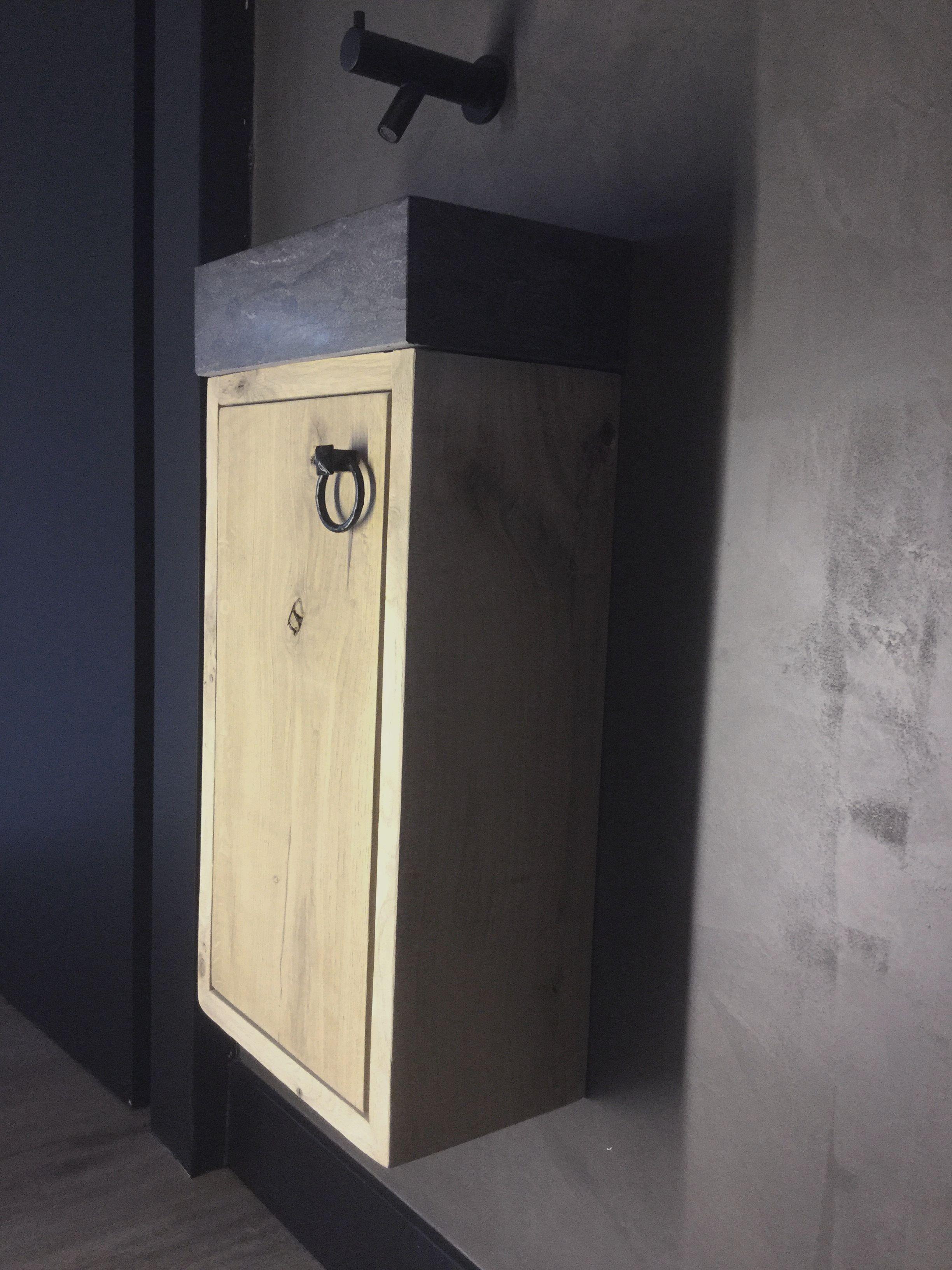 Eiken Toiletmeubel Desh