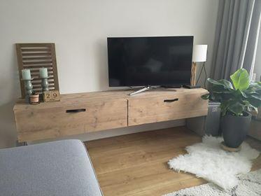 Steigerhouten Tv Meubel Medan