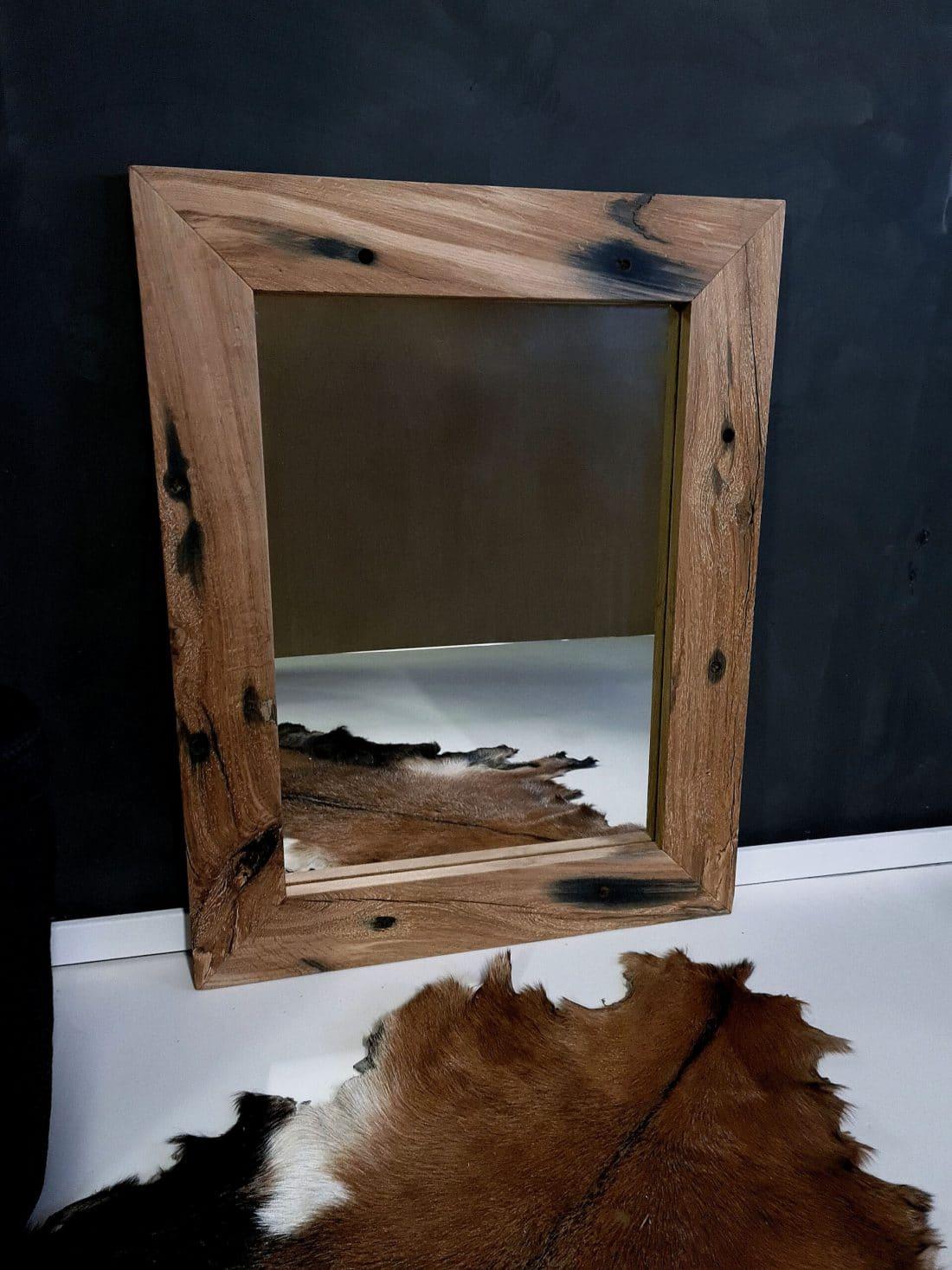 Oud Eiken Spoorbielzen Spiegel