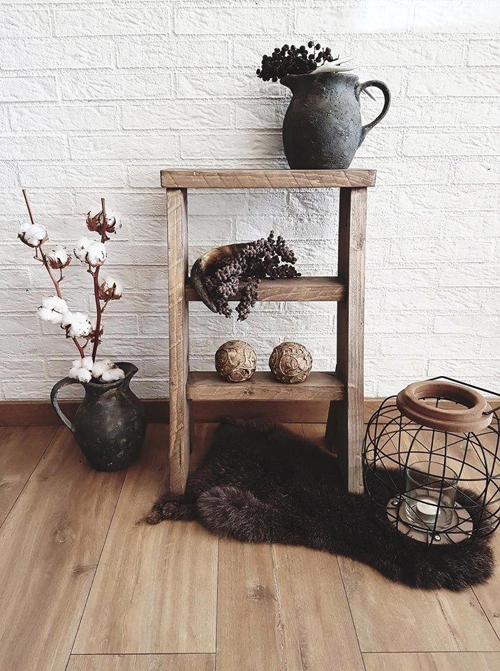 Decoratie Trapje Steigerhout Woodchoice1