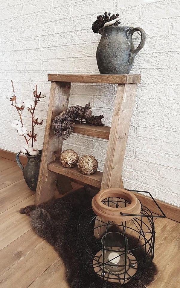 Decoratie Trapje Steigerhout Woodchoice2